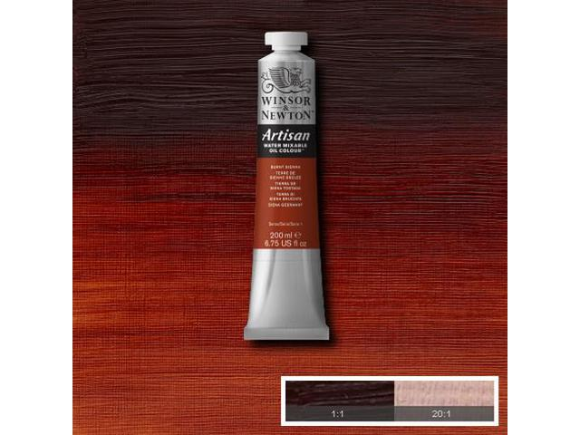 WINSOR & NEWTON ARTISAN 200ML S1 074 BURNT SIENNA 1