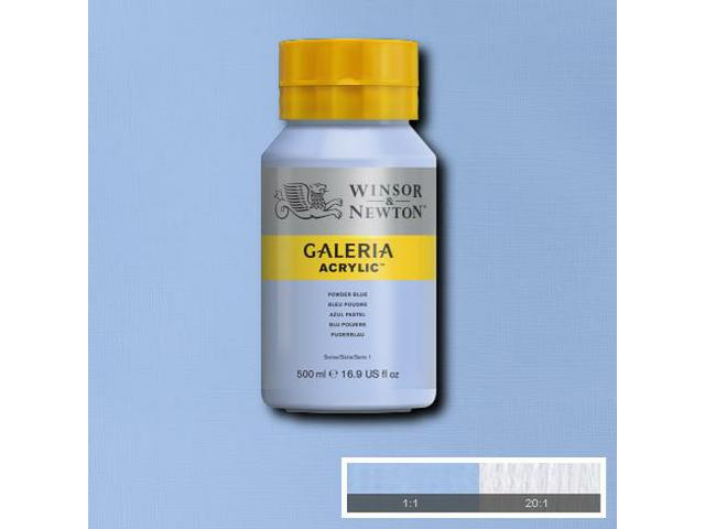 W&N GALERIA ACRYLIC 500ML 447 OLIVE GREEN