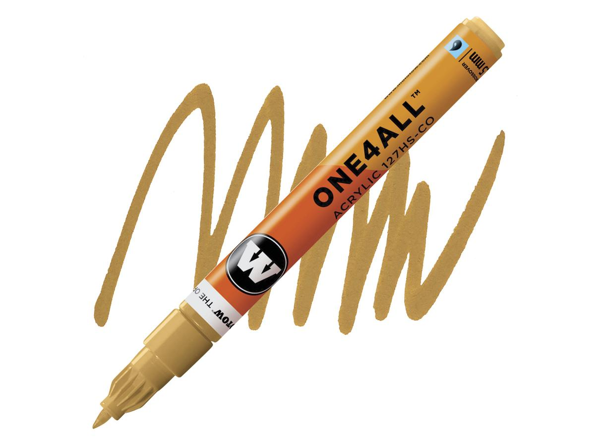MOLOTOW ONE4ALL CROSSOVER 208 1,5MM 127HS-CO OCHRE BROWN 1