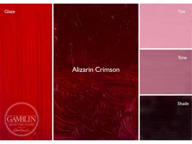 GAMBLIN 37ML S3 1020 ALIZARIN CRIMSON AG 1