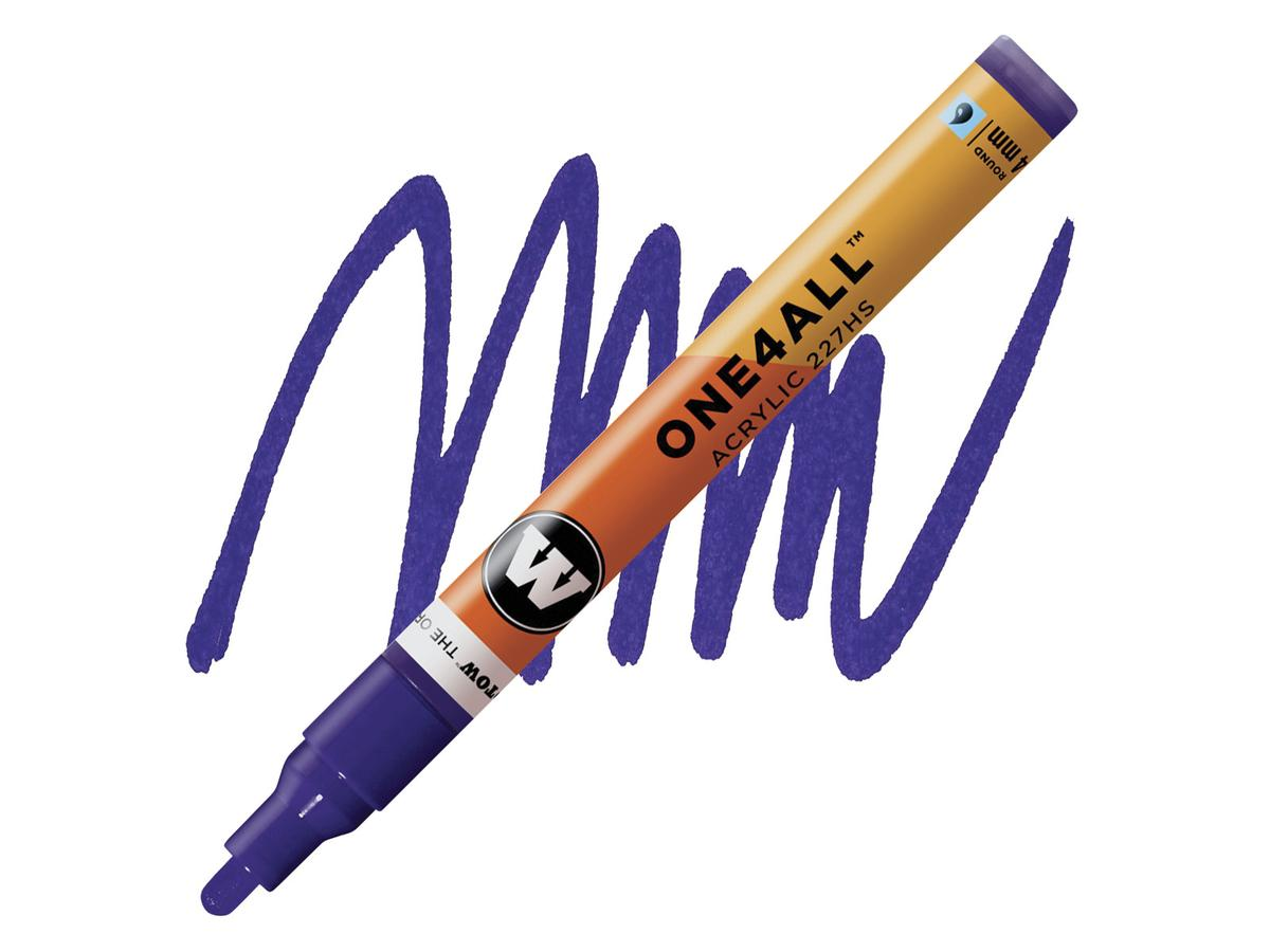 MOLOTOW ONE4ALL MARKER 227HS 4MM VIOLET HD