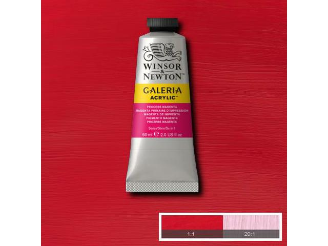 WINSOR & NEWTON GALERIA TUBE 60ML 533 PROCESS MAGENTA 1