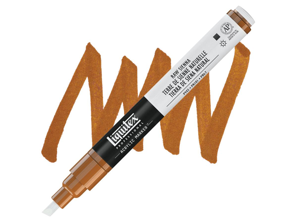 LIQUITEX PAINTMARKER 0331 2MM RAW UMBER