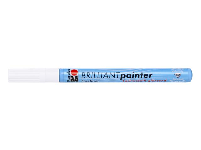 MARABU BRILLIANT PAINTER 0,8MM 070 WIT 1