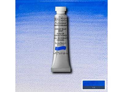 W&N AQUARELVERF TUBE 5ML S4 COBALT GREEN