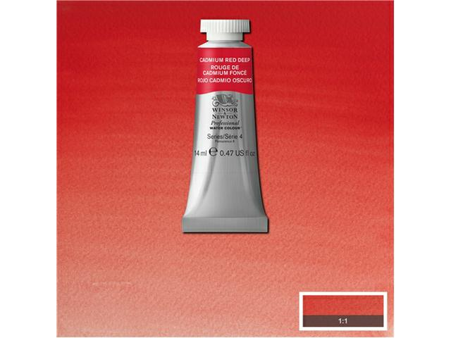 WINSOR & NEWTON AQUARELVERF 14ML S4 CAD RED DEEP 1