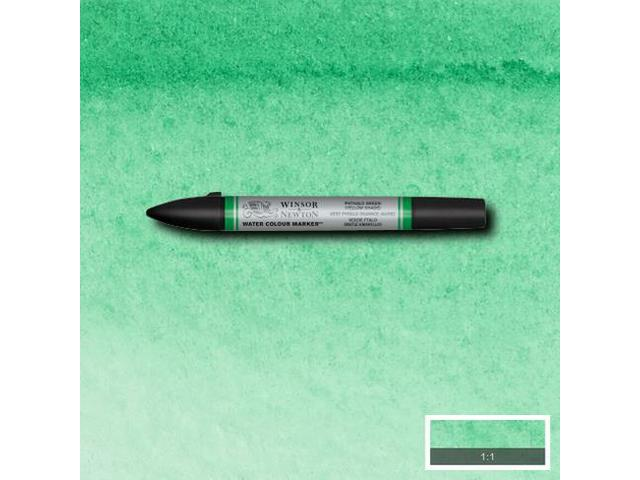 WINSOR & NEWTON WATER COLOUR MARKER S2 521 PHTHALO GREEN YELLOW SHADE 1