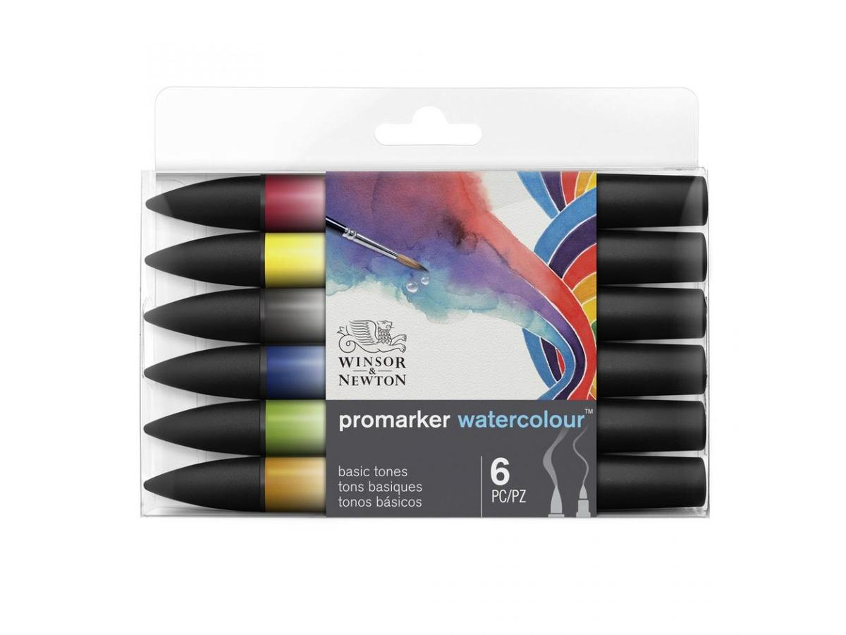 W&N WATER COLOUR MARKER-12 SET