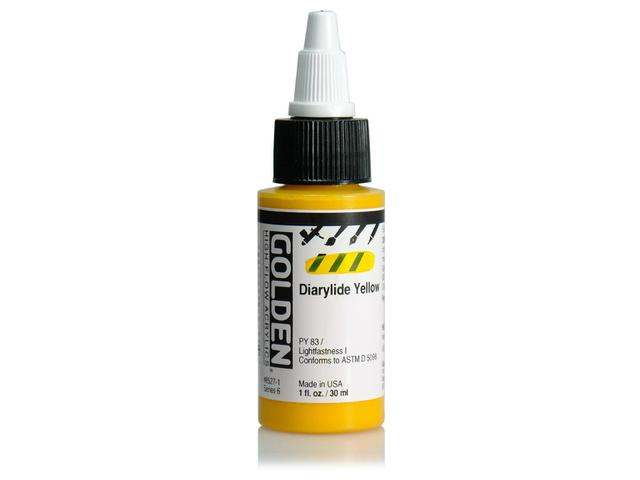 GOLDEN HIGH FLOW ACRYL 30ML S6 QUINACRIDONE RED