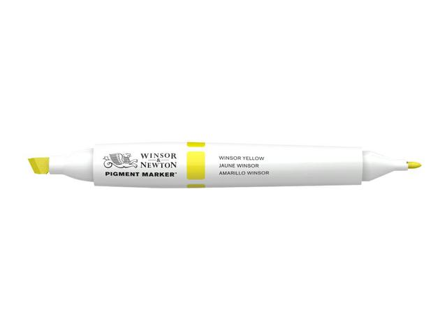 W&N PIGMENT MARKER 731 WINSOR YELLOW DEEP