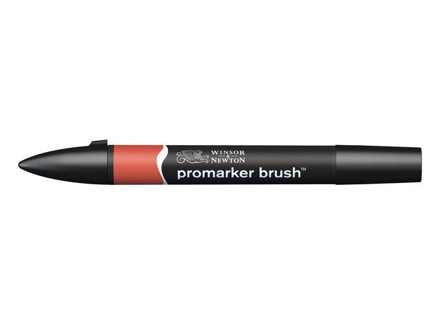 W&N BRUSH MARKER R665 BERRY RED