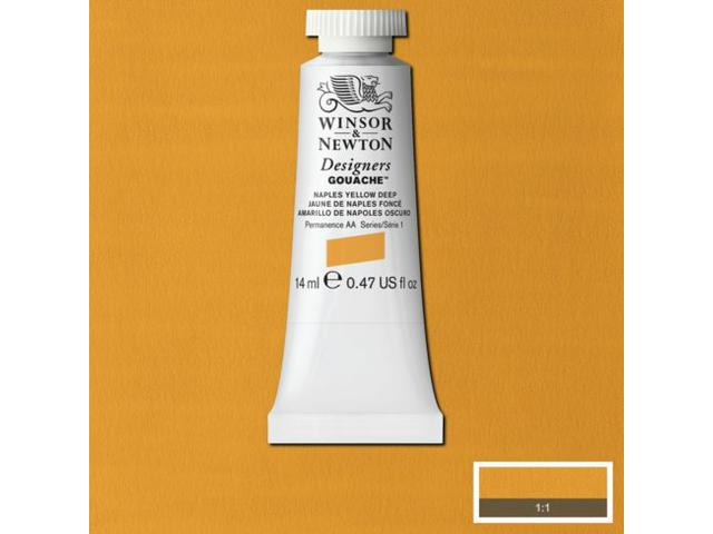 W&N GOUACHE TUBE 14ML S1 ZINCWHITE 748/536
