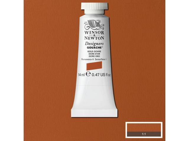 W&N GOUACHE TUBE 14ML S2 OXIDE OF CHROMIUM 459/556
