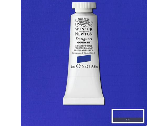 W&N GOUACHE TUBE 14ML S1 INDIGO 322/512