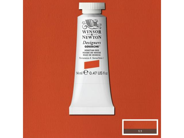 W&N GOUACHE TUBE 14ML S4  CADMIUM ORANGE 089/582