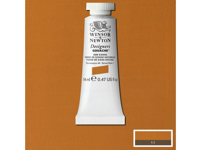 W&N GOUACHE TUBE 14ML S1 RAW UMBER 554/525