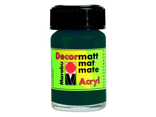 MARABU DECORMATT 15ML 073 ZWART