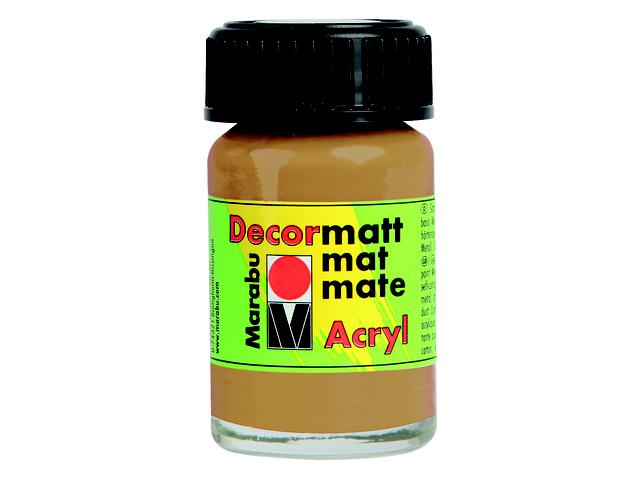 MARABU DECORMATT 15ML 040 MIDDENBRUIN