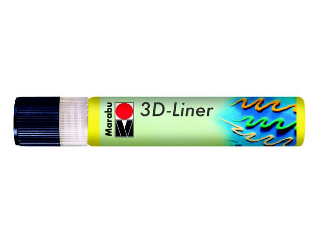 MARABU 3D LINER MAGIC 25ML PASTEL-GEEL