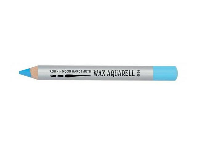 KIN WAX AQUAREL PASTEL POTLOOD BERGBLAUW