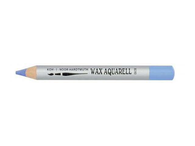 KIN WAX AQUAREL PASTEL POTLOOD DONKERVIOLET