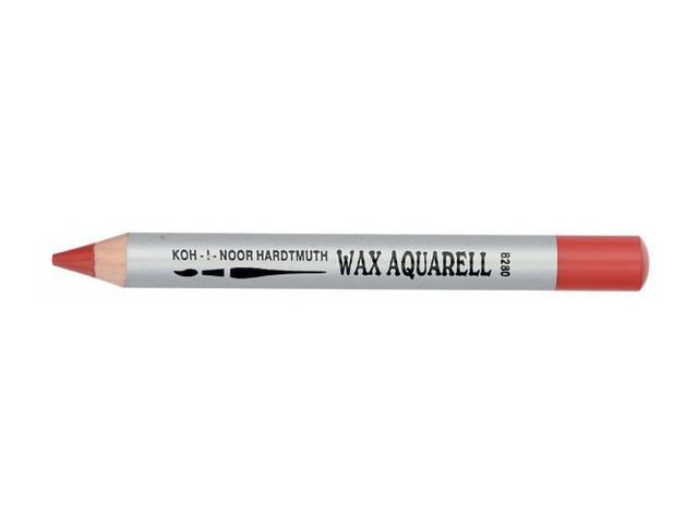 KIN WAX AQUAREL PASTEL POTLOOD ORANJE