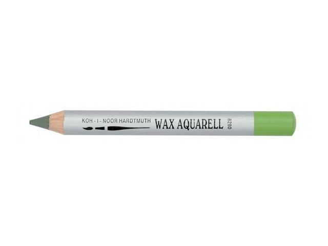 KIN WAX AQUAREL PASTEL POTLOOD OMBER GEBRAND