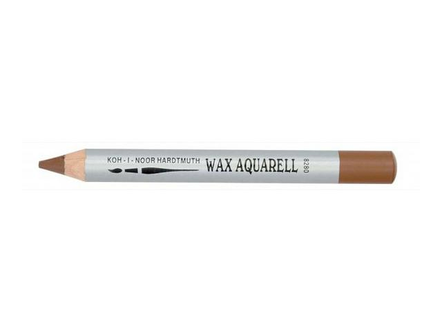 KIN WAX AQUAREL PASTEL POTLOOD ZWART