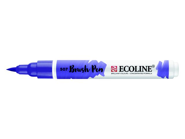 TALENS ECOLINE BRUSH PEN ULTRAMARIJN VIOLET 1