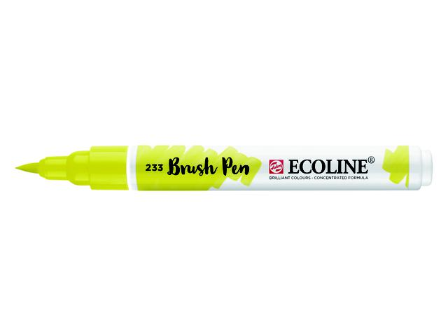 TALENS ECOLINE BRUSH PEN CHARTREUSE 1