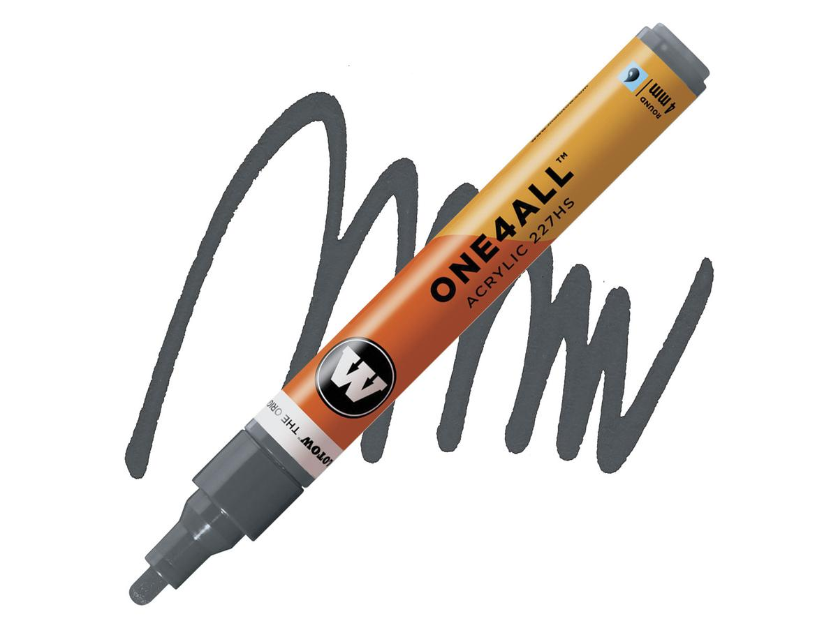 MOLOTOW LIQUID CHROME MARKER 1MM - ALCOHOL BASED