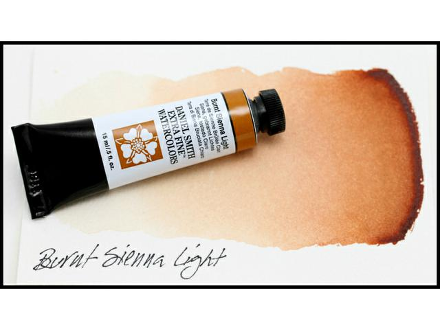 DANIEL SMITH S1 WATERCOLOUR 15ML 230 BURNT SIENNA LIGHT 1
