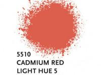 LIQUITEX SPRAY PAINT 400ML BUS CADMIUM RED LIGHT HUE 5