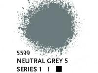 LIQUITEX SPRAY PAINT 400ML BUS NEUTRAL GREY 5