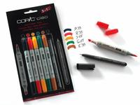 COPIC CIAO SET 5+1 (MULTILINER) HUES