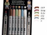 COPIC CIAO SET 5+1 (BLENDER) SCRAP & STEMPELSET 2