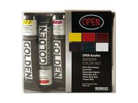 GOLDEN OPEN ACRYLIC MODERN SET 6X22ML