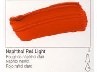 GOLDEN ACRYLVERF 59ML 1210 S5 NAPHTHOL RED LIGHT
