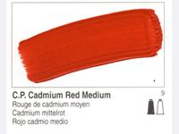GOLDEN OPEN ACRYLIC 59ML 7100 S9 OPEN C.P. CADMIUM RED MEDIU