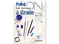 CLAIREFONTAINE PAINT-ON A GRAIN BLOK A4 250GRAM