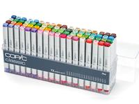 COPIC MARKERSET 72-DELIG AD SET III