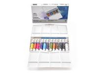 WINSOR & NEWTON COTMAN AQUAREL SET 12X8ML TUBES + 1 PENSEEL