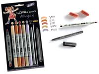 COPIC CIAO SET 5+1 (MULTILINER) MANGA 4