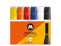 MOLOTOW ONE4ALL MARKER SET 627HS 15MM BASIS 1 6 STUKS