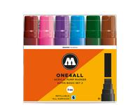 MOLOTOW ONE4ALL MARKERSET 627HS 15MM PASTEL 6STUKS