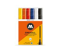 MOLOTOW ONE4ALL MARKERSET 227HS 4MM BASIC 2 6STUKS
