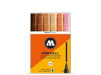 MOLOTOW ONE4ALL MARKERSET 227HS 4MM CHARACTER 6STUKS