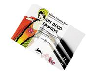 POSTCARDKLEURBOEK - ART DECO FASHION (10,5x15CM)