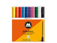 MOLOTOW ONE4ALL MARKERSET 127HS 2MM BASIC 1 10STUKS