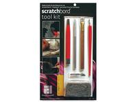 AMPERSAND SCRATCHBOARD TOOLKIT-KNIVES,LINES,WIRE,FIBER,WOOL